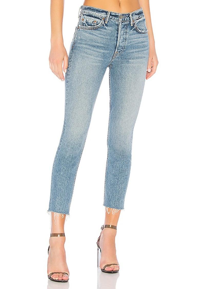 GRLFRND Karolina High-Rise Crop Jean