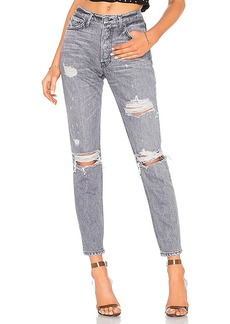 GRLFRND Karolina High-Rise Skinny Crop Jean
