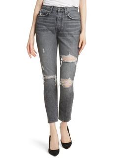 GRLFRND Karolina High Waist Skinny Jeans (Flint)