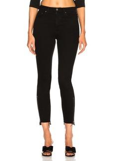 GRLFRND Kendall High-Rise Zipper Jean