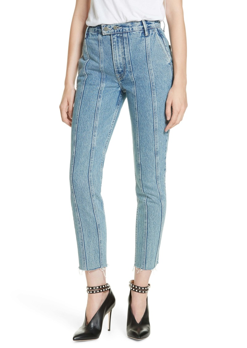 GRLFRND Monroe Seam Detail Straight Leg Jeans (Catching Feelings)