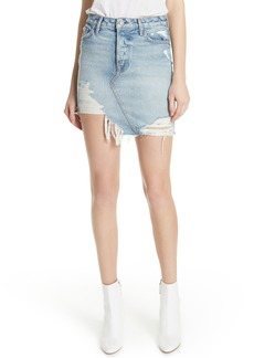GRLFRND Rhoda Denim Skirt (Lava Bed)