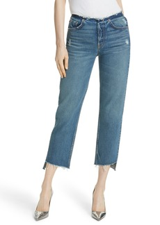 GRLFRND Shannan Step Hem Crop Jeans (Show Down)