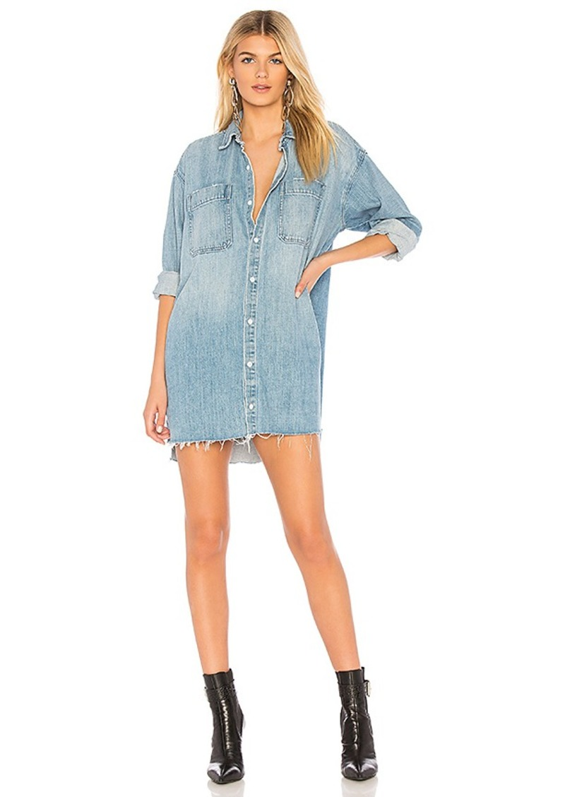 0ae88545d0c GRLFRND GRLFRND Shaun Oversized Shirt Dress