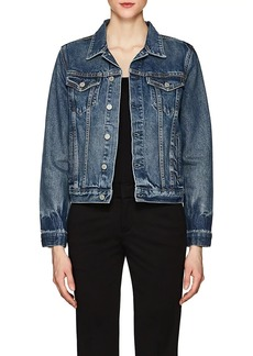 GRLFRND Women's Bianca Denim Trucker Jacket