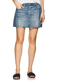 GRLFRND Women's Claudia Denim Miniskirt