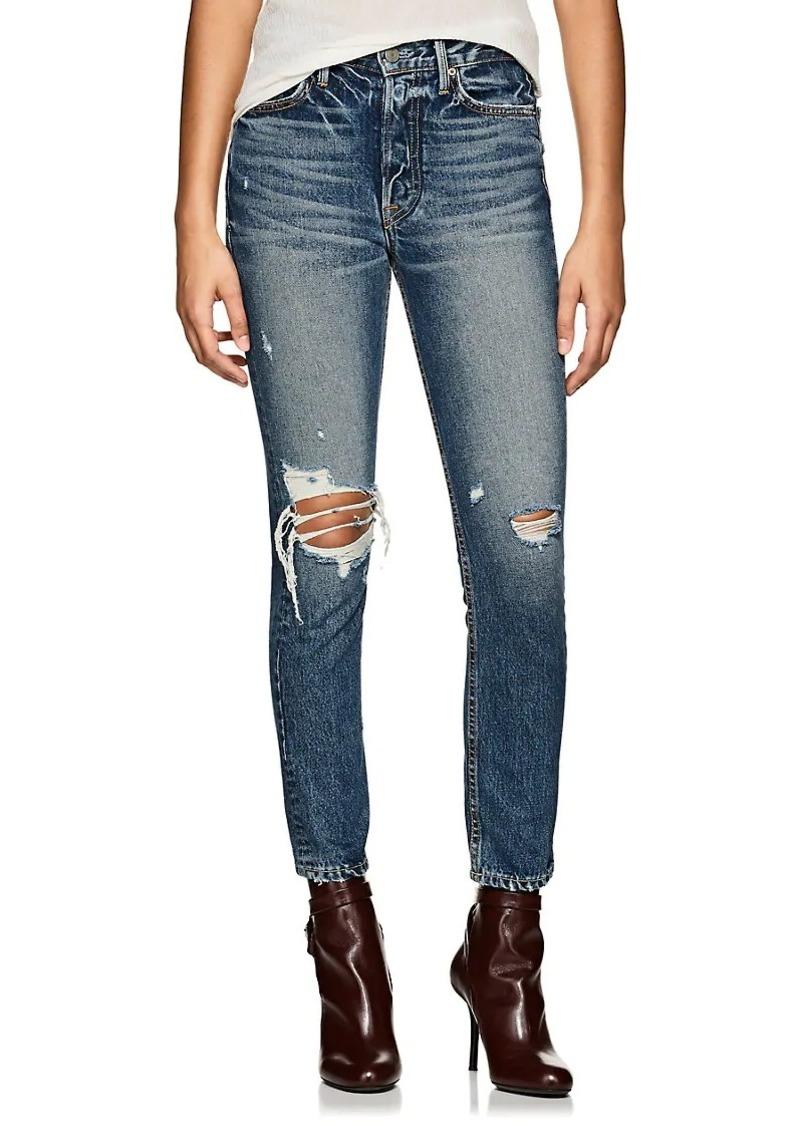 GRLFRND Women's Karolina Distressed Skinny Jeans