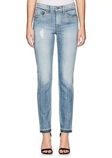 GRLFRND Women's Naomi Distressed Crop Jeans