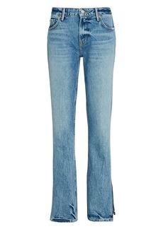 GRLFRND Hailey Split Hem Bootcut Jeans