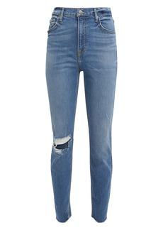 GRLFRND Kendall Distressed Skinny Jeans