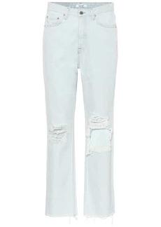 GRLFRND Mica high-rise straight jeans