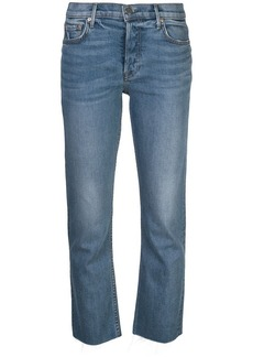 GRLFRND straight-leg jeans