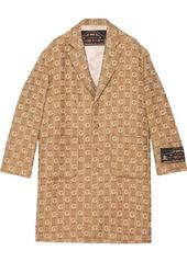 Gucci monogram coat