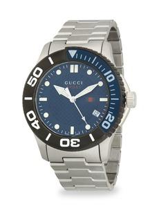 Gucci 126XL Stainless Steel Bracelet Watch