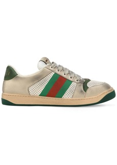 Gucci 20mm Screener Vintage Leather Sneakers
