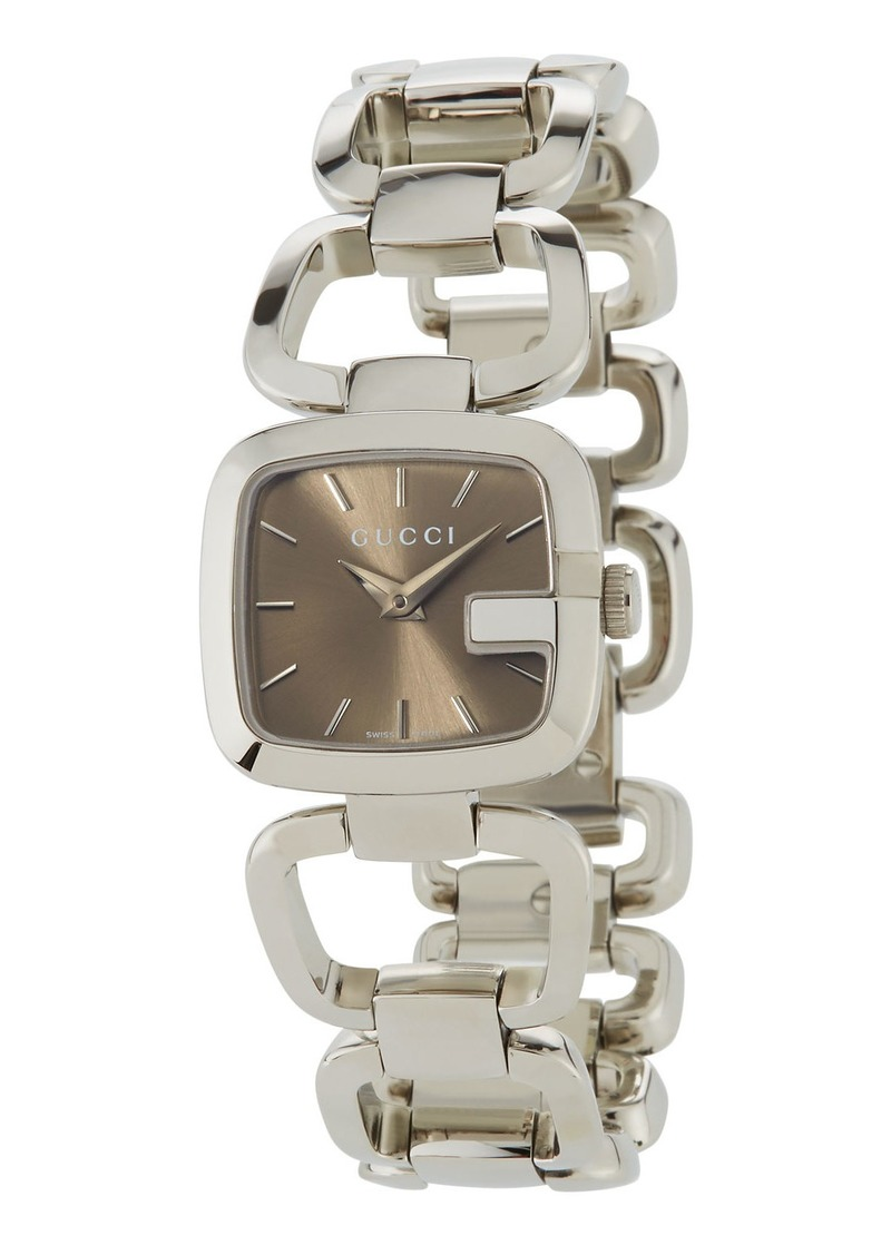 On Today Gucci 24mm G Bracelet Watch
