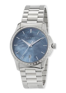 Gucci 38mm G-Timeless Bracelet Watch