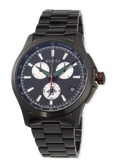 Gucci 44mm G-Timeless Chronograph Watch  Black