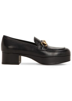 Gucci 45mm Leather Loafers