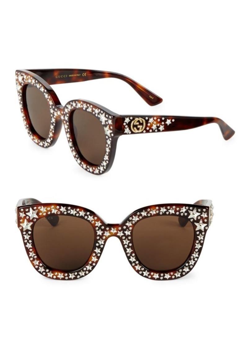 1e778fd8772 Gucci 49MM Star-Studded Sunglasses