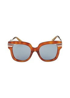 Gucci 51MM Butterfly Sunglasses