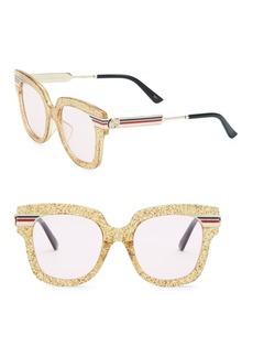 Gucci 51MM Square Sunglasses