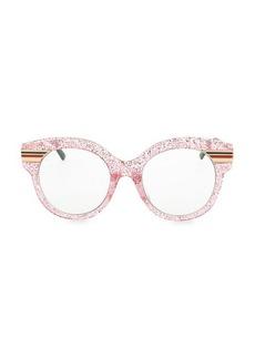 Gucci 52MM Glitter Cat Eye Sunglasses