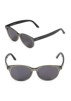 Gucci 52MM Oval Sunglasses