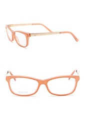 Gucci 52mm Rectangle Optical Frames