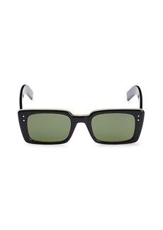 Gucci 52MM Rectangular Sunglasses