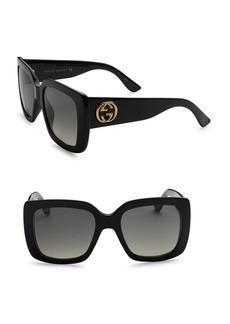 Gucci 53MM Classic Square Sunglasses