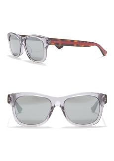 Gucci 53mm Rectangle Sunglasses