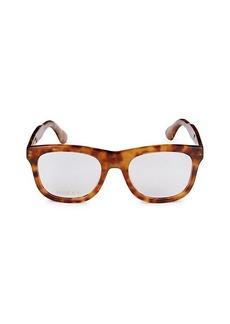 Gucci 53MM Square Fashion Optical Glasses