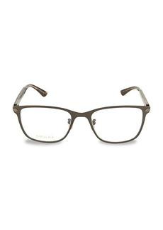 Gucci 54MM Optical Glasses