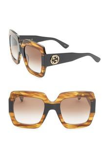 Gucci 54MM Oversized Square Sunglasses