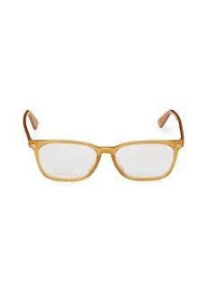 Gucci 54MM Rectangular Optical Glasses