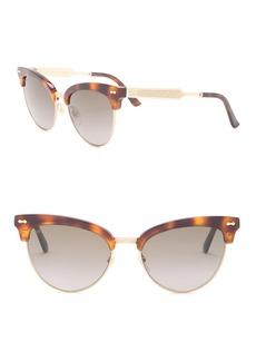 Gucci 55mm Cat-Eye Sunglasses