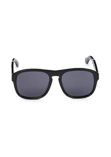 Gucci 55MM Fashion Square Sunglasses