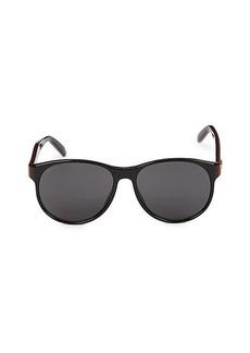 Gucci 55MM Round Sunglasses
