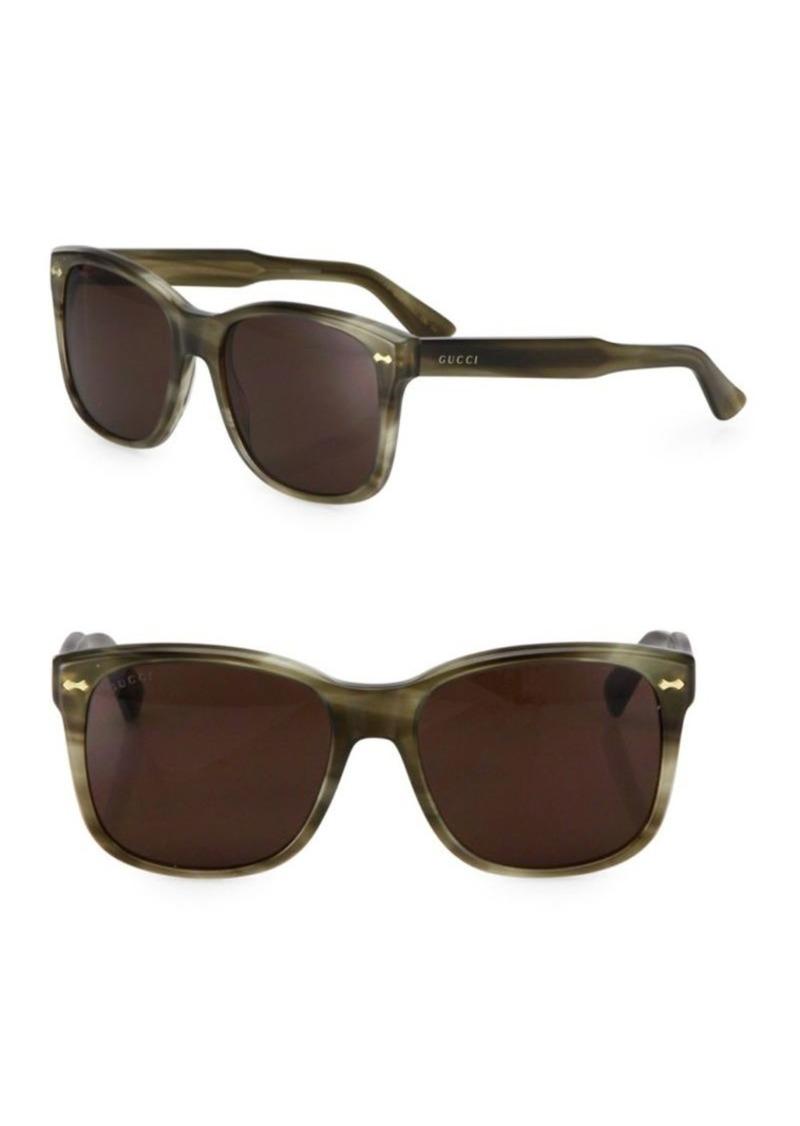 76fcb1531 Gucci 56MM Oversized Square Sunglasses | Sunglasses