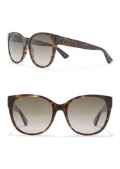 Gucci 56mm Oversized Sunglasses