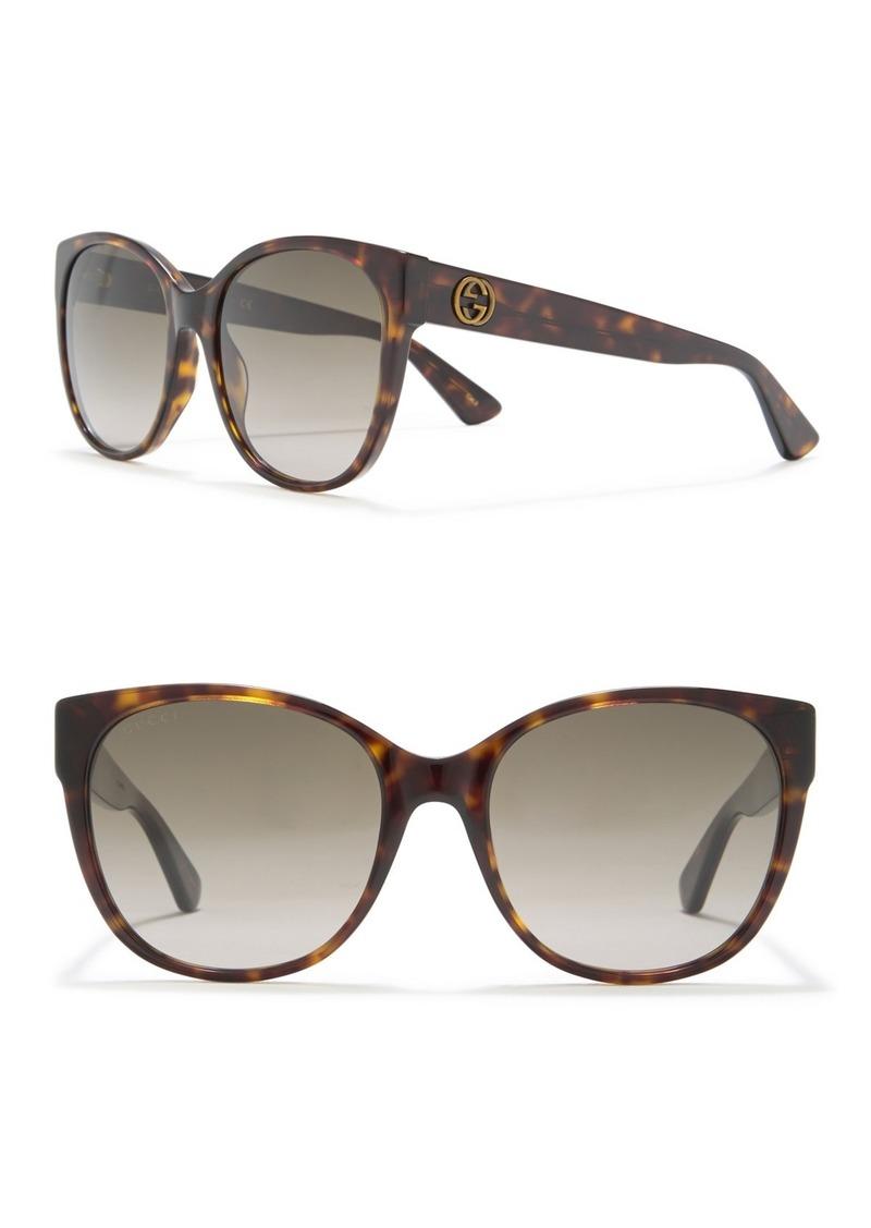 Gucci 56mm Oversized Sunglasses