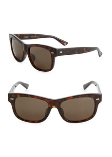 Gucci 56MM Rectangle Sunglasses