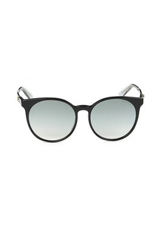 Gucci 56MM Round Core Sunglasses
