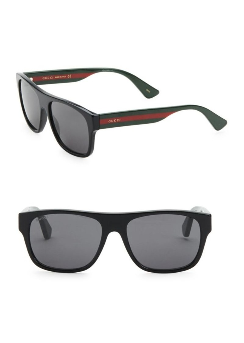 124e86537 Gucci 56MM Square Sunglasses | Sunglasses