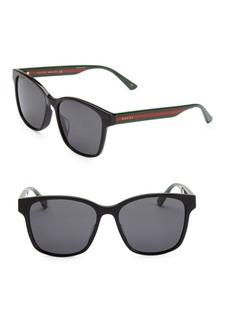 9e16582eb5 Gucci 56MM Unisex Acetate Sunglasses