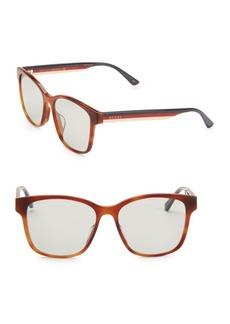 Gucci 56MM Unisex Acetate Sunglasses