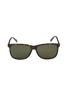 Gucci 57MM Square Sunglasses