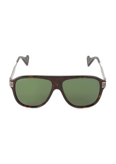 Gucci 57MM Square Sunglasses