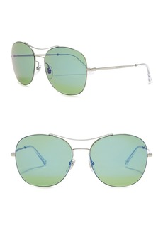 Gucci 58mm Aviator Sunglasses